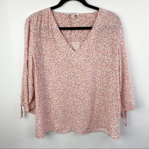 Esprit spotted blouse 3/4 sleeve